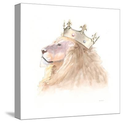Jungle Royalty I Crop-Myles Sullivan-Stretched Canvas Print