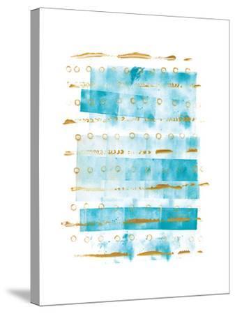 Ocean Blue I-Wild Apple Portfolio-Stretched Canvas Print