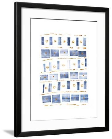 Ocean Blue III-Wild Apple Portfolio-Framed Art Print