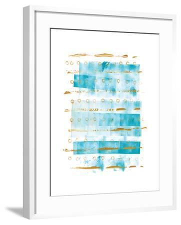 Ocean Blue I-Wild Apple Portfolio-Framed Art Print
