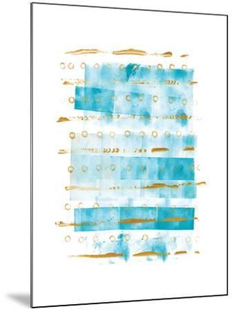 Ocean Blue I-Wild Apple Portfolio-Mounted Art Print