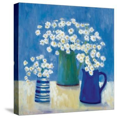 Summer Daisies-Michael Clark-Stretched Canvas Print