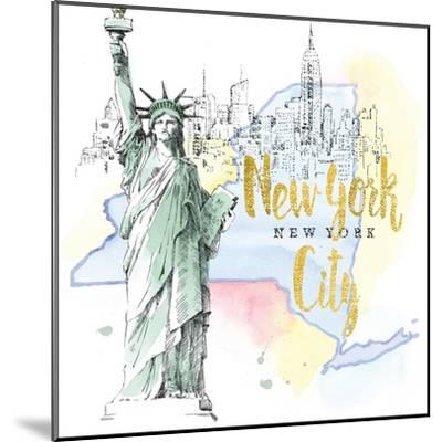 US Cities IV-Beth Grove-Mounted Art Print