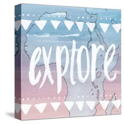 World Traveler Explore-Sara Zieve Miller-Stretched Canvas Print