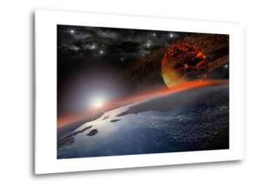 Doom Morning on Earth-3000ad-Metal Print
