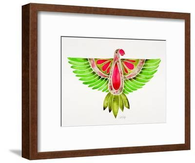 Lovebird Parrot-Cat Coquillette-Framed Giclee Print
