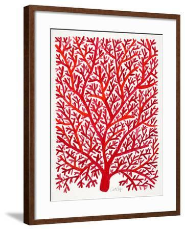 Red Fan Coral-Cat Coquillette-Framed Giclee Print