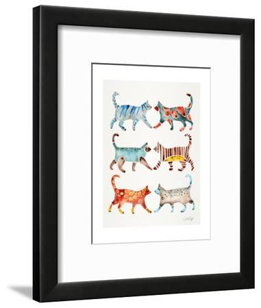 Original Cat Collection-Cat Coquillette-Framed Giclee Print