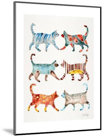 Original Cat Collection-Cat Coquillette-Mounted Giclee Print