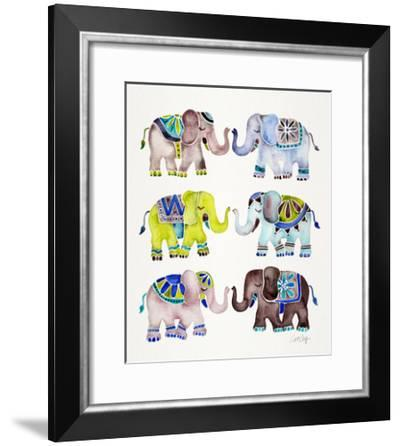 Cool Elephants-Cat Coquillette-Framed Giclee Print