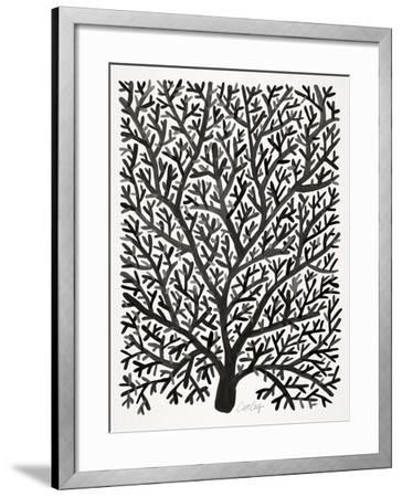 Black Fan Coral-Cat Coquillette-Framed Giclee Print