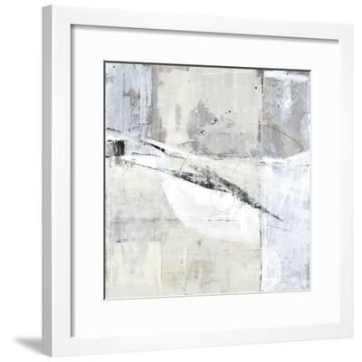 White Blockage II-Kari Taylor-Framed Giclee Print