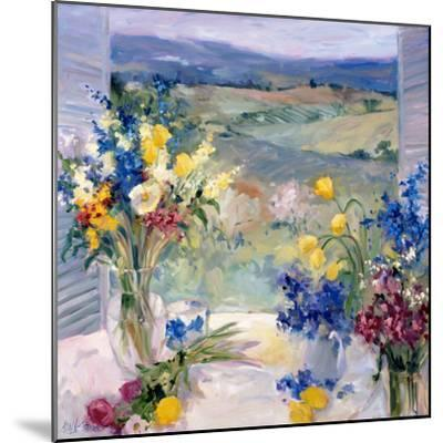 Tuscany Floral-Allayn Stevens-Mounted Premium Giclee Print