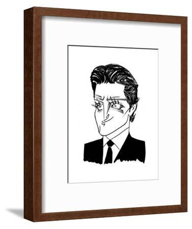 Bradley Cooper - Cartoon-Tom Bachtell-Framed Premium Giclee Print