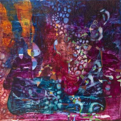Violet Dream-Alise Loebelsohn-Art Print