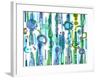 Atlantis-Marilyn Cvitanic-Framed Art Print