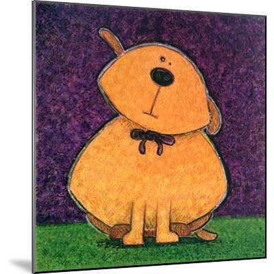 Yellow Dog-Kourosh-Mounted Art Print