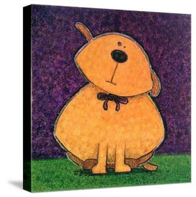 Yellow Dog-Kourosh-Stretched Canvas Print