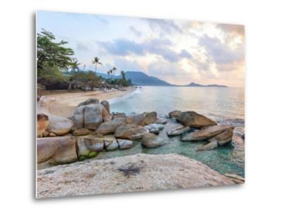 Asian Tropical Beach Paradise-Olena Serditova-Metal Print