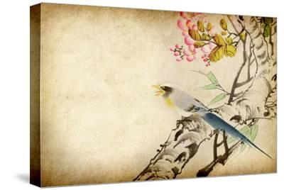 Art Grunge Vintage Texture-Wu Kailiang-Stretched Canvas Print