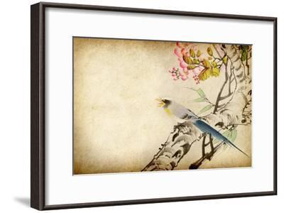 Art Grunge Vintage Texture-Wu Kailiang-Framed Art Print