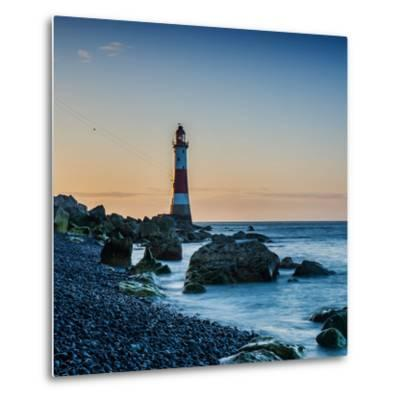 Beachy Head Lighthouse, East Sussex-Green Planet Photography-Metal Print
