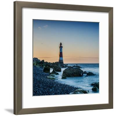 Beachy Head Lighthouse, East Sussex-Green Planet Photography-Framed Photographic Print