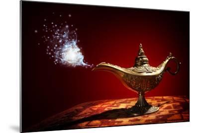 Magic Aladdins Genie Lamp-Brian Jackson-Mounted Photographic Print