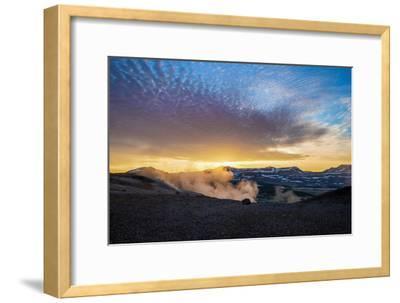 Geothermal Hot Springs, Mud Pots and Fumaroles, Namaskard Close to Lake Myvatn, Northern, Iceland-Ragnar Th Sigurdsson-Framed Photographic Print