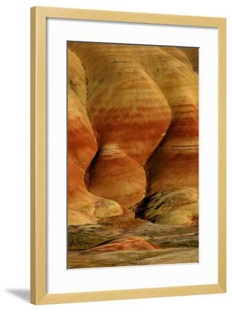 Painted Hills, John Day Fossil Beds National Monument, Oregon, USA- Marilyn Dunstan Photography-Framed Photographic Print