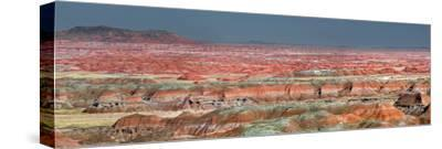 Painted Desert, Part of the Petrified Forest National Park, Buttes and Badlands-Clement Philippe-Stretched Canvas Print