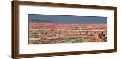 Painted Desert, Part of the Petrified Forest National Park, Buttes and Badlands-Clement Philippe-Framed Photographic Print