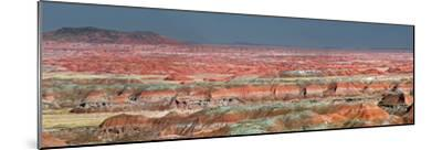 Painted Desert, Part of the Petrified Forest National Park, Buttes and Badlands-Clement Philippe-Mounted Photographic Print