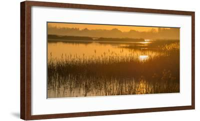 Dawn on the River Alde-Martin Wilcox-Framed Photographic Print