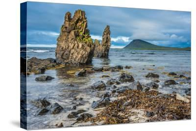 Rugged Volcanic Landscapes Along the Strandir Coast, West Fjords, Iceland-Luis Leamus-Stretched Canvas Print
