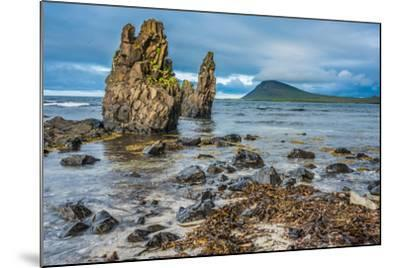 Rugged Volcanic Landscapes Along the Strandir Coast, West Fjords, Iceland-Luis Leamus-Mounted Photographic Print