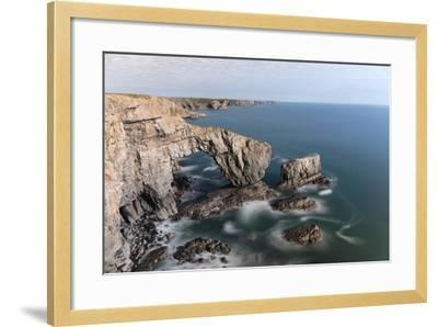 Green Bridge of Wales-Mse Stock-Framed Photographic Print