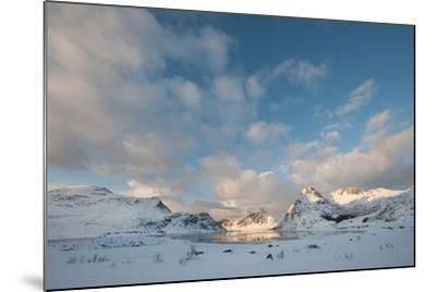 Coastal Landscape on Flakstadoya, Loftofen, Norway-moodboard-Mounted Photographic Print