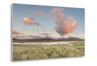 Dramatic Cloud over Achnahaird Bay and the Mountains of Assynt, North West Scotland-Stewart Smith-Metal Print