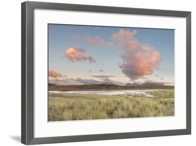 Dramatic Cloud over Achnahaird Bay and the Mountains of Assynt, North West Scotland-Stewart Smith-Framed Photographic Print