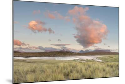 Dramatic Cloud over Achnahaird Bay and the Mountains of Assynt, North West Scotland-Stewart Smith-Mounted Photographic Print
