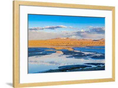 View of Laguna in the Evening-Veeravong Komalamena-Framed Photographic Print