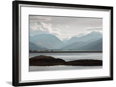 View over Lock Linnhe, the- Landscape-Framed Photographic Print
