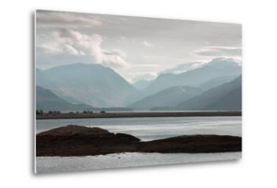 View over Lock Linnhe, the- Landscape-Metal Print