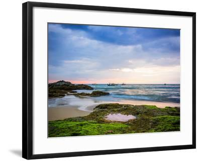 Sunset on Khao Lak Beach in Thailand-Remy Musser-Framed Photographic Print