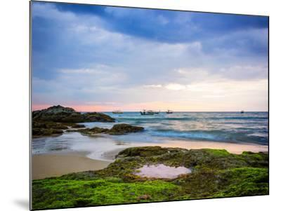 Sunset on Khao Lak Beach in Thailand-Remy Musser-Mounted Photographic Print