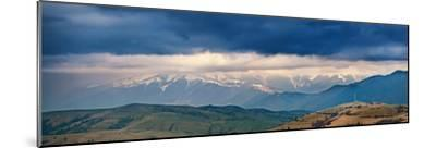 Spring Storm, Rain and Clouds in Carpathian Mountains-Maxim Weise-Mounted Photographic Print