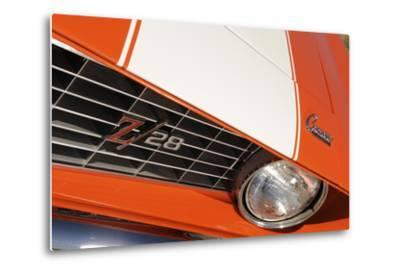 Chevrolet Camaro Z28 1969-Simon Clay-Metal Print