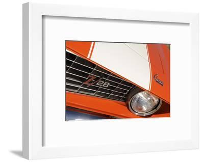 Chevrolet Camaro Z28 1969-Simon Clay-Framed Photographic Print