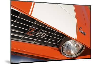 Chevrolet Camaro Z28 1969-Simon Clay-Mounted Photographic Print
